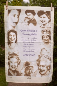 Queen's Diamond Jubilee: 2012. To read the story www.myteatowels.wordpress.com/2017/01/20/the-queens-diamond-jubilee-2012/