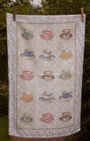 Tea Cups: 2001 and 2010: To read the story www.myteatowels.wordpress.com/2017/03/09/tea