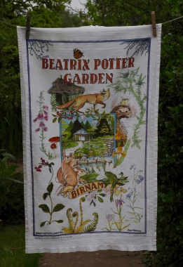 Beatrix Potter Garden: 2009. To read the story www.myteatowels.wordpress.com/2020/02/04/bea