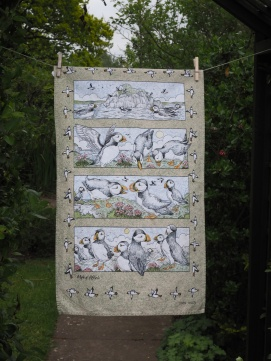And the Venery Noun for Puffins is?: 2014. To read the story www.myteatowels.wordpress.com/2016/10/07/and-the-venery-noun-for-puffins-is-2014/