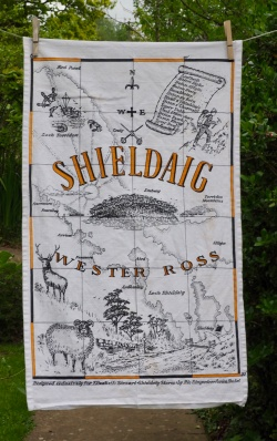 Shieldaig, Wester Ross: 19p99. To read the story www.myteatowels.wordpress.com/2016/11/17/shi