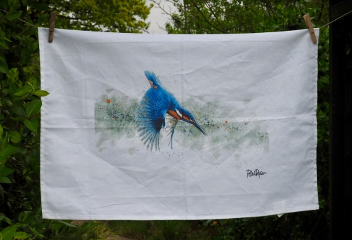 The Kingfisher: 2016. To read the story www.myteatowels.wordpress.com/2016/12/31/the