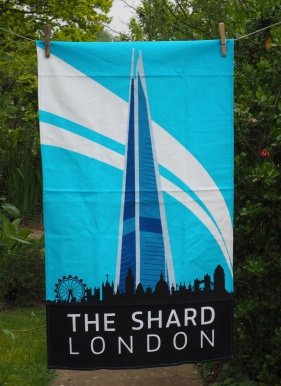 The Shard: 2016. To read the story www.myteatowels.wordpress.com/2016/12/30/the