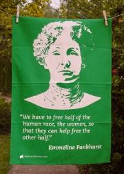 Emmeline Pankhurst: 2016. To read the story www.myteatowels.wordpress.com/2017/01/02/emm