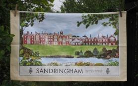 Sandringham: 2016. To read the story www.myteatowels.wordpress.com/2017/11/20/san