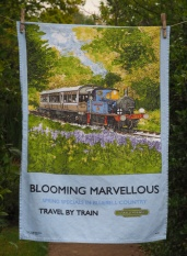 The Bluebell Railway: 2016. To read the story www.myteatowels.wordpress.com/2016/09/07/the