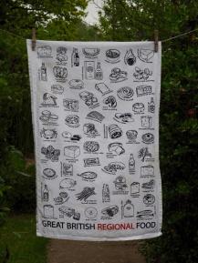 Great British Regional Food: 2016. To read the story www.myteatowels.wordpress.com/2017/07/25/gre