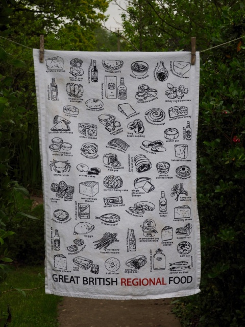 Great British Regional Food: 2016. To read the story www.myteatowels.wordpress.com/2017/07/25/gre