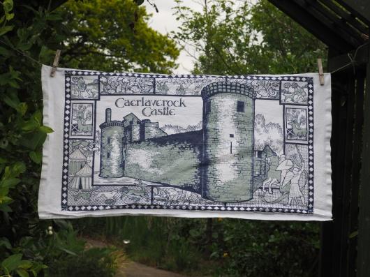 Caerlaverock Castle: 2010. To read the story www.myteatowels.wordpress.com/2019/09/13/cae