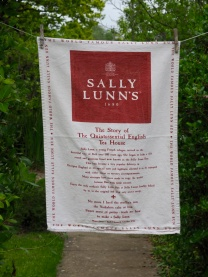 Sally Lunn: 2001. Not yet blogged about