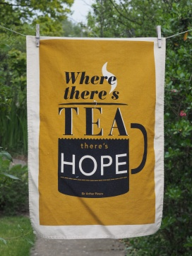 Where There's Tea There's Hope: 2014. To read the story www.myteatowels.wordpress.com/2015/08/29/whe