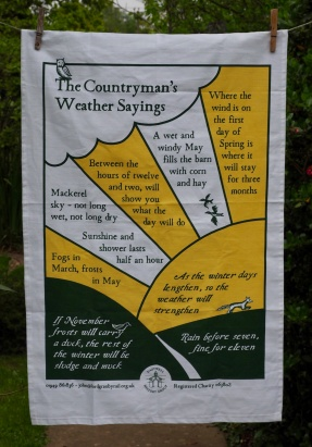 The Countryman's Weather Sayings: 2017. Not yet blogged about