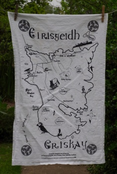 Eirisgeidh (Eriskay): 2014. To read the story www.myteatowels.wordpress.com/2016/02/18/eir