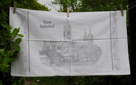 Truro Cathedral: 1982. To read the story www.myteatowels.wordpress.com/2017/05/21/tru