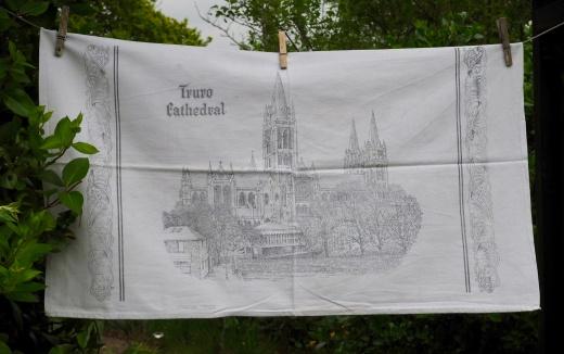 Truro Cathedral: 1982. To read the story www.myteatowels.wordpress.com/2017/05/21/tru