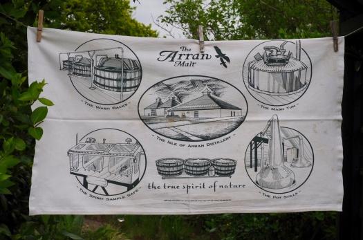 The Arran Distillery: 2010. To read the story www.myteatowels.wordpress.com/2015/08/18/arr