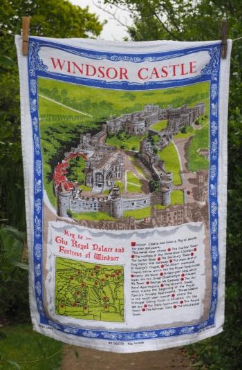 Windsor Castle: 2002. To read the story www.myteatowels.wordpress.com/2015/08/08/win