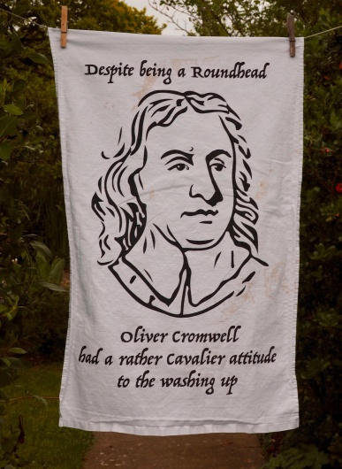 Oliver Cromwell: 2016. To read the story www.myteatowels.wordpress.com/2017/03/23/oli