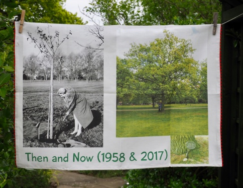 Then and Now: 1959 and 2017. To read the story www.myteatowels.wordpress.com/2017/06/30/then-and-now-1958-2017/