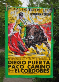 Bullfighting Poster: Acquired 2016. To be part of a Special Collection