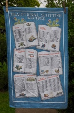 """Scottish Traditional Recipes: """"Myra bought this tea towel at Crathes Castle. She loved cooking and was such a good cook. Her cakes were the best"""""""