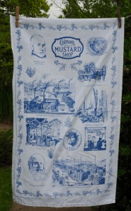 "Colman's Mustard, Norwich: 2002. ""This was a present from Liz when she went on holiday to Norfolk"" To read the story www.myteatowels.wordpress.com/2016/09/16/colemans-mustard-norwich-2002/"