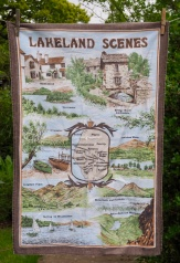 """Lakeland Scenes: 12 May 1997 """"We went round Beatrix Potter's house, had a trip on the Windermere Ferry and had a cup of tea in a lovely little tea room"""""""