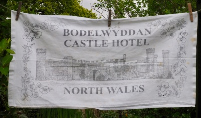 """Bodelwyddan Castle Hotel: 10 February 2003 """"We have a lovely room with a view overlooking open countryside. It is very quiet apart from the birdsong"""" (from Jean's Postcard Diary)"""
