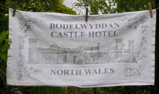 "Bodelwyddan Castle Hotel: 10 February 2003 ""We have a lovely room with a view overlooking open countryside. It is very quiet apart from the birdsong"" (from Jean's Postcard Diary)"