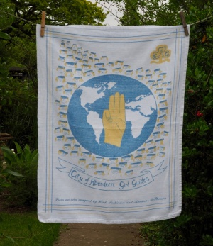 City of Aberdeen Girl Guides: Acquired 2015. To read the story www.myteatowels.wordpress.com/2019/03/24/cit