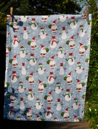 Half A Set (or Christmas Snowmen): 2006. To read the story www.myteatowels.wordpress.com/2016/12/17/hal