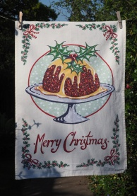 Kelly Hall's Christmas Pudding: 2015. To read the story www.myteatowels.wordpress.com/2015/12/19/the-kelly-hall-christmas-pudding-2015/