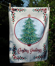 Kelly Hall Christmas Tree: 2015. To read story www.myteatowels.wordpress.com/2015/12/18/the-kelly-hall-christmas-tree-2015/