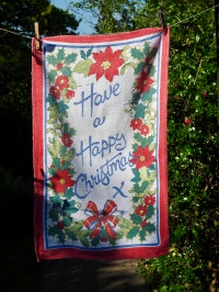 Have a Happy Christmas: 1980. To read the story www.myteatowels.wordpress.com/2017/12/01/hav