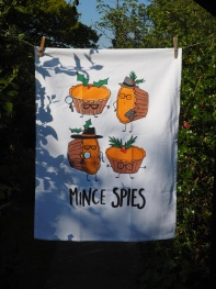 Ginger Bread Men and Mince Spies: 2016. To read the story www.myteatowels.wordpress.com/2017/11/17/gin