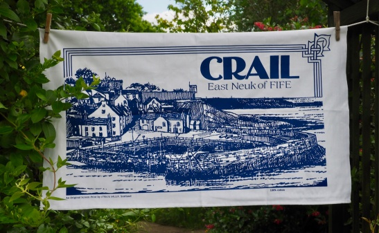Crail, East Neuk of Fife: 2017. To read the story www.myteatowels.wordpress.com/2017/06/11/cra