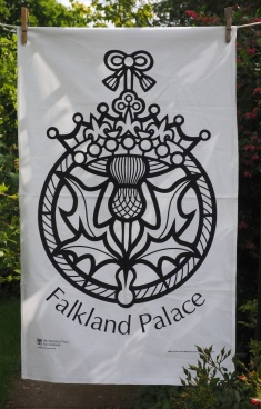 Falkland Palace: 2017. To read the story www.myteatowels.wordpress.com/2017/06/16/fal