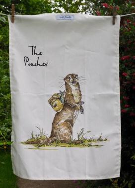 The Poacher: 2017. To read the story www.myteatowels.wordpress.com/2017/06/08/the-poacher-2017/