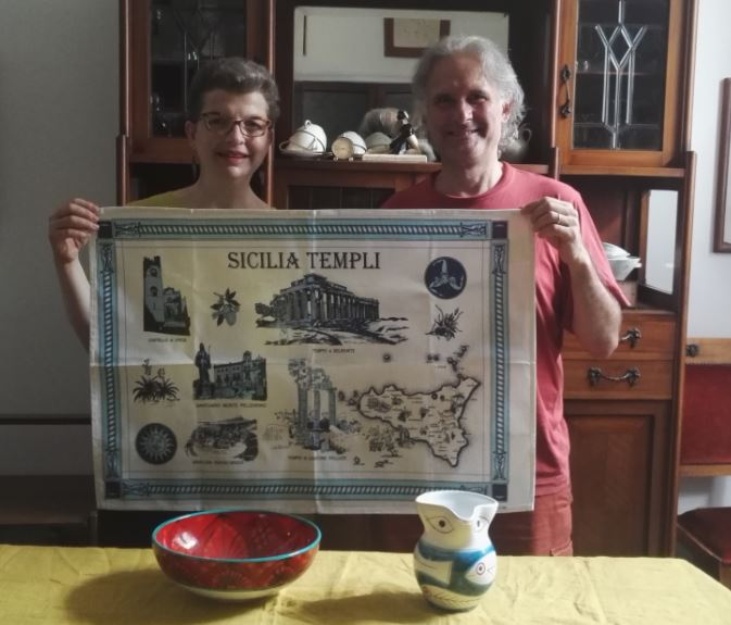 tea towels - Sicilia 1