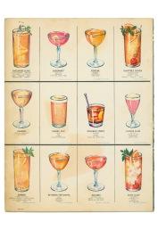 Vintage Menu. On loan courtesy of Love Menu Art