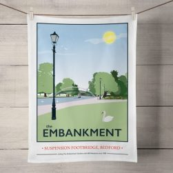 The Embankment, Bedford: On 'loan' from Tabitha Mary. Read In Conversation With...