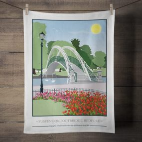 Suspension Bridge, Bedford: On 'loan' from Tabitha Mary. Read In Conversation With...