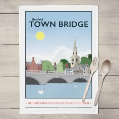 Bedford Town Bridge: On 'loan' from Tabitha Mary. Read In Conversation With...