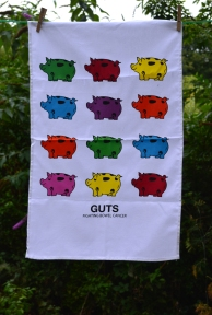 Gertie: On 'loan' from GUTS. To read the story go to ChariTea Towel in the Museum