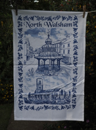 North Walsham: 2017 (remembering 1939). To read the story www.myteatowels.wordpress.com/2017/08/19/nor