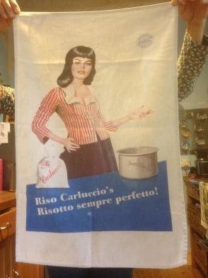 Carluccios. On 'loan' from Lynn