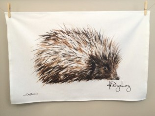 Hedgehog: On 'loan' from Clare Baird. See In Conversation With...