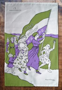 This was the front page of the song sheet for 'March for Women', dedicated to Emmeline Pankhurst. This was the 'anthem' of the Women's Social and Political Union. The front sheet was designed by Margaret Morris
