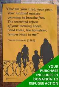 Emma Lazarus wrote these words for the Statue of Liberty in 1883. The words haveas much meaning today as they did then.
