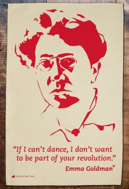 Emma Goldman (1869-1940). Anarchist and the developer of anarchist political philosophy in North America and Europe